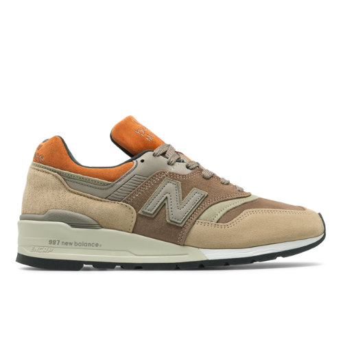 Made in US 997 Men's Shoes - Tan/Brown (M997NAJ)