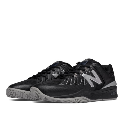 New Balance 1006 Men's Tennis Shoes - Black/Silver (MC1006BS)