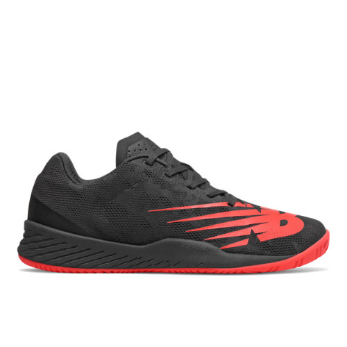 896v3 Men's Tennis Shoes - Black/Red (MCH896R3)