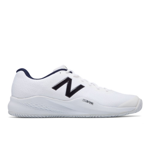 996v3 Men's Tennis Shoes - White/Navy (MCH996P3)