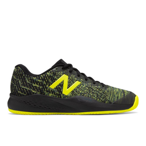 996v3 Men's Tennis Shoes - Black/Green (MCH996S3)