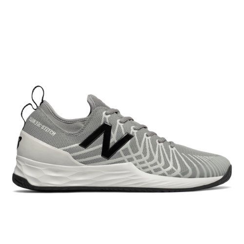 Fresh Foam Lav Men's Tennis Shoes - Grey/Black (MCHLAVMB)