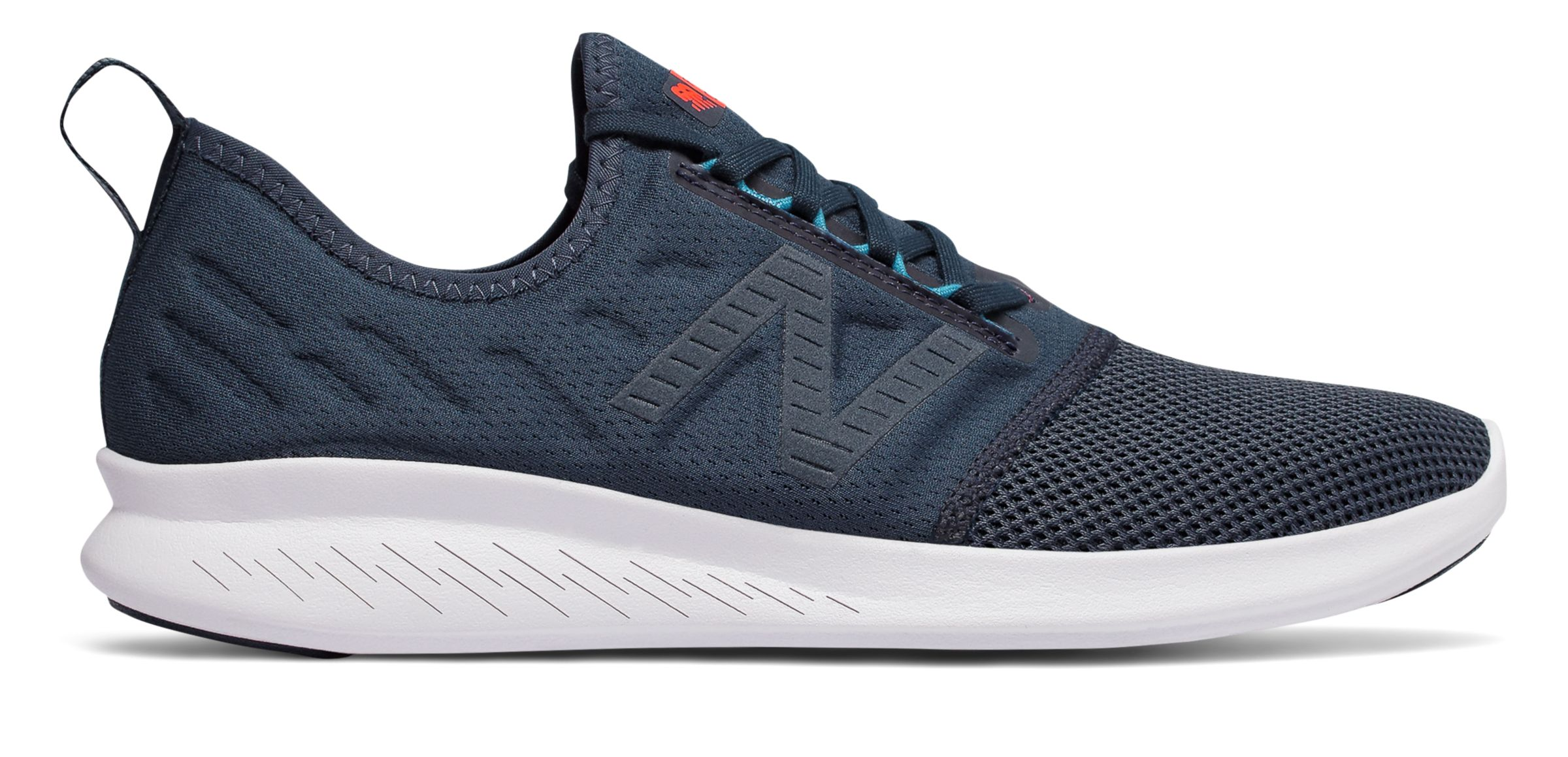 0cb5fabe76a21 New Balance Men s Fuelcore Coast V4 Comfortable Running Shoes Grey ...