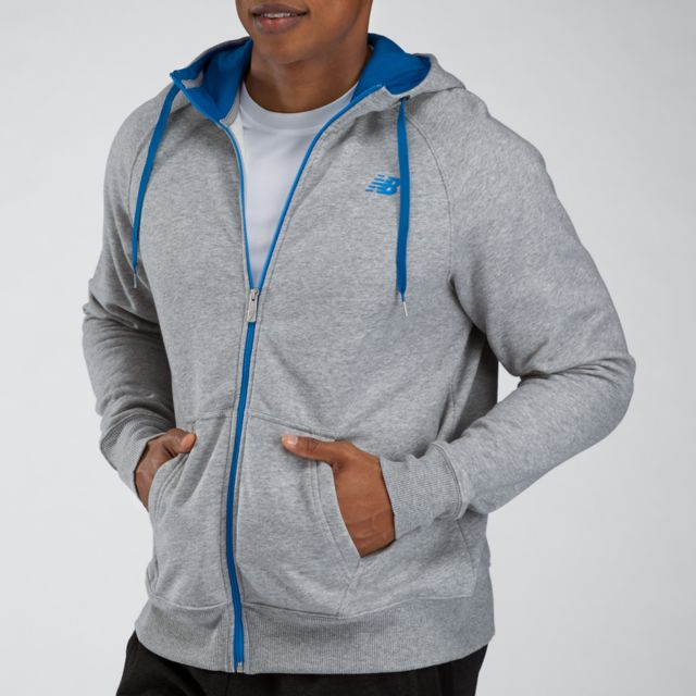 Full Zip Fleece Hood