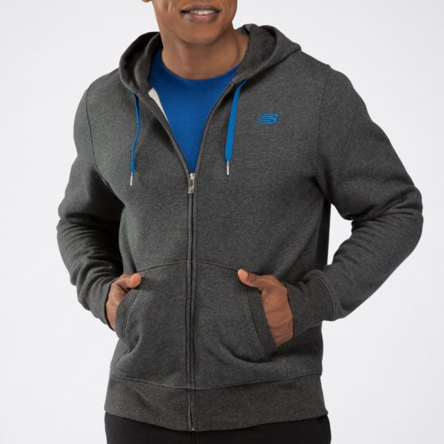 Mens Essentials Zip Up Hoodie