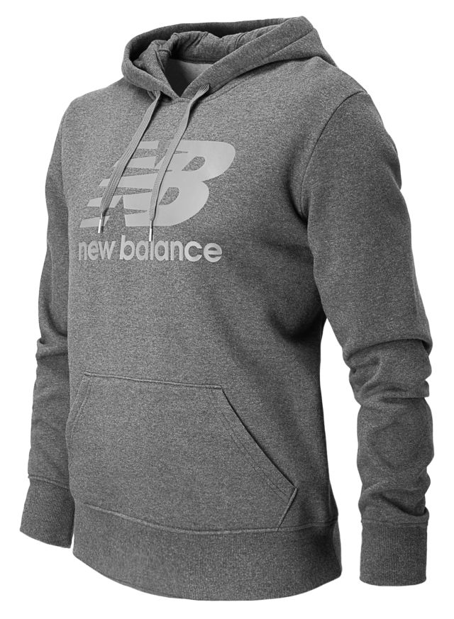 Mens Essentials Pull Over Hoodie