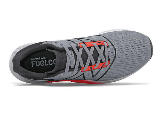 Men's FuelCell Propelv2, Steel with Black & Flame