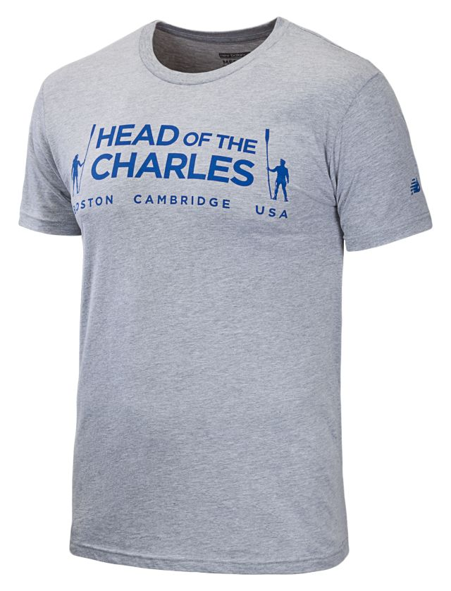 Mens Head of The Charles Race Tee