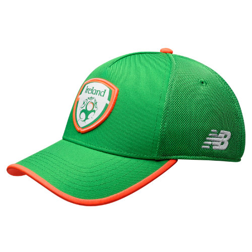 New Balance 934091 Men's FA Ireland Elite Cap - Green/Orange (MH934091JGA)