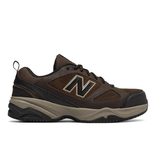 Steel Toe 627v2 Men's Work Shoes - Brown/Black (MID627O2)