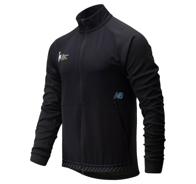 Men's 2020 NYC Marathon Q Speed Run Crew Jacket
