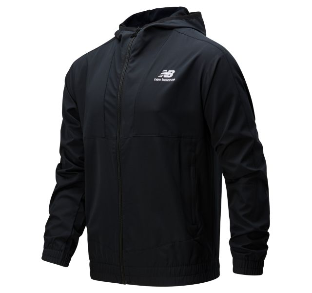 Men's NB Athletics Full Zip Windbreaker