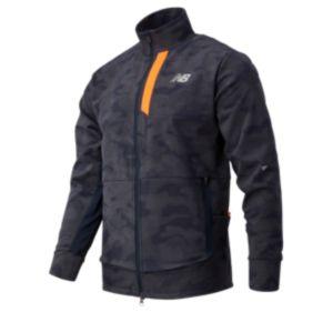 Men's Reflective Impact Run Winter Jacket