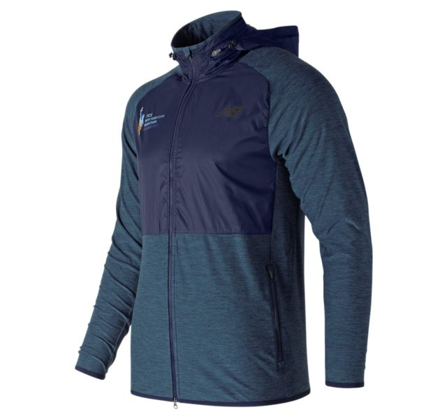 Men's 2018 NYC Marathon Anticipate Finisher Half Zip