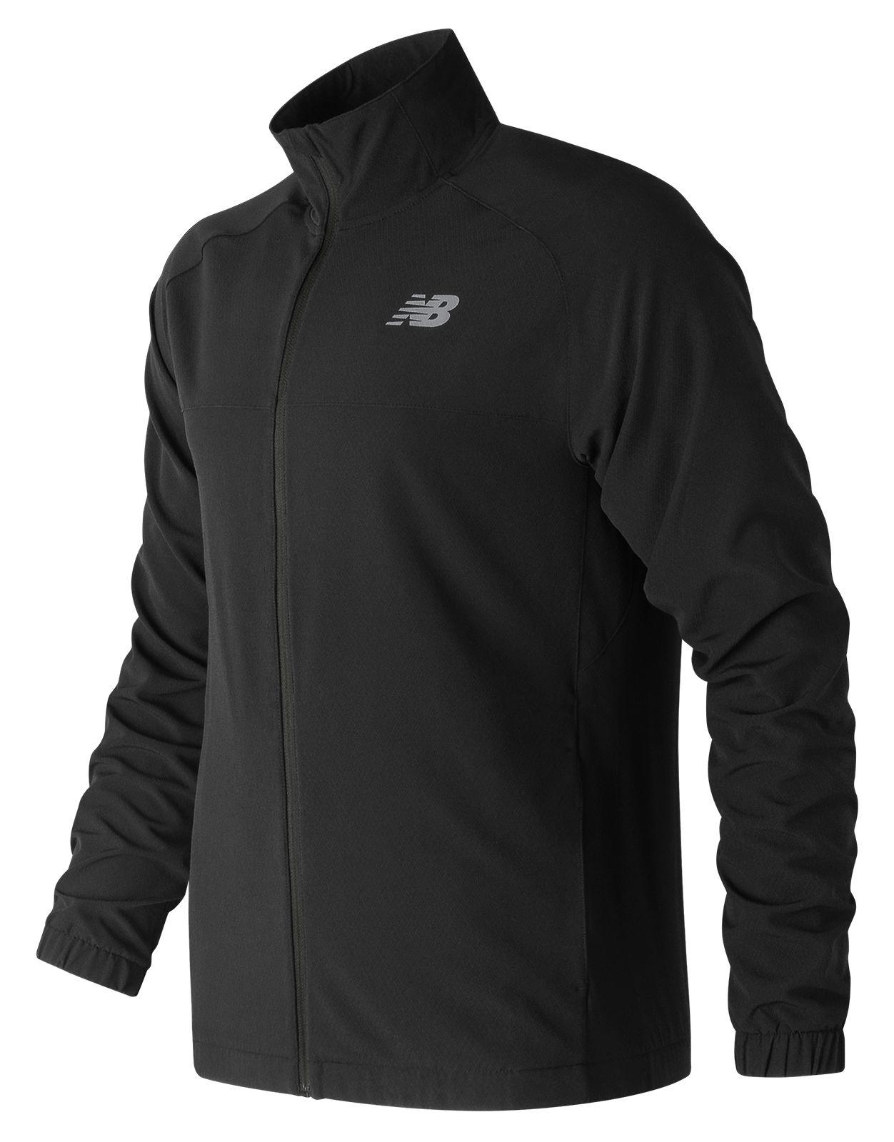df2f95437 Details about New Balance Men's Tenacity Woven Jacket Black