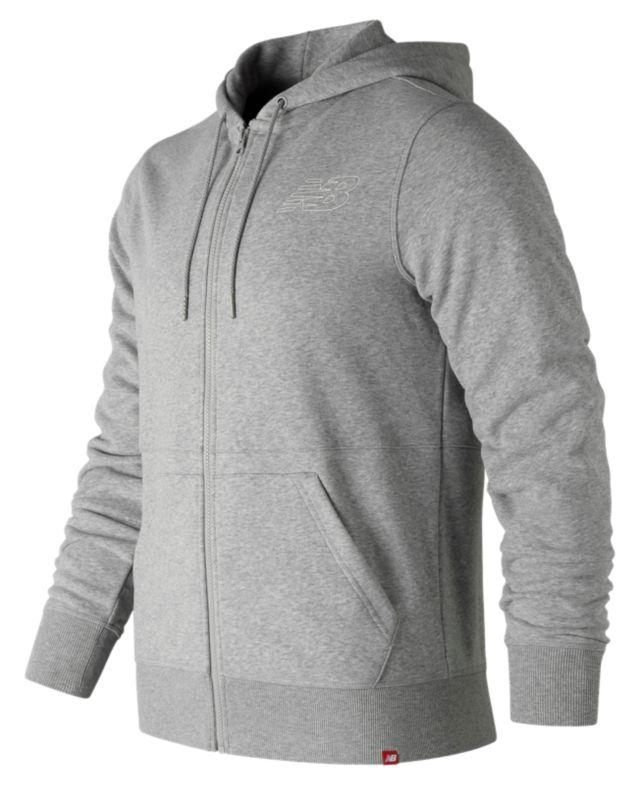 Men's Essentials Full Zip Hoodie