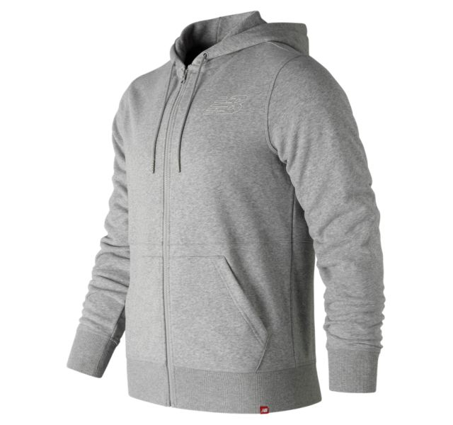 Men's Essentials Full Zip Hoodie