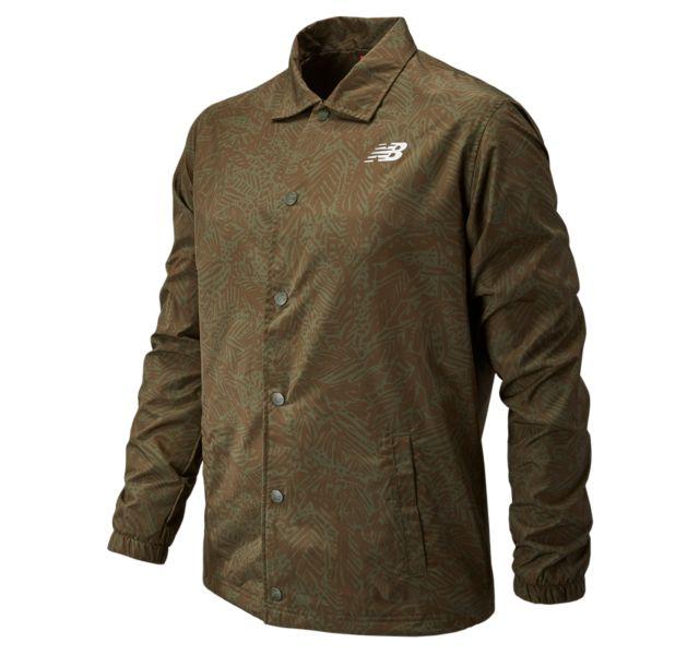 Men's Classic Printed Coaches Jacket