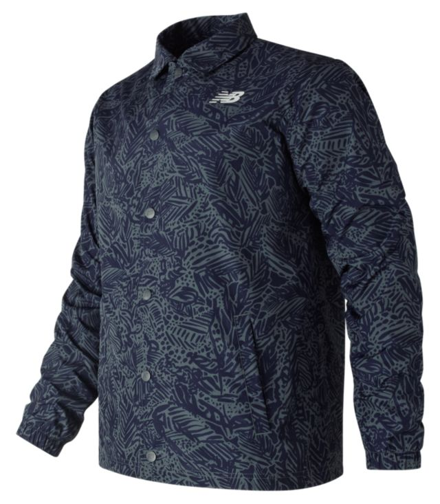 Men's Classic Printed Coaches Jacket