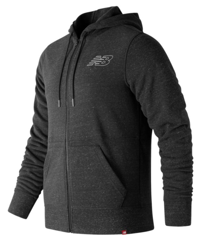 Men's Heather Full Zip Hoodie