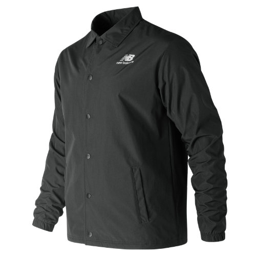 New Balance 91521 Men's Classic Coaches Stacked Jacket - Black (MJ91521BK)