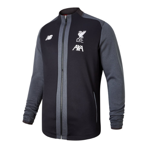 New Balance 931070 Men's Liverpool FC Managers Game Jacket - Black (MJ931070BK)