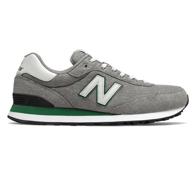 New Balance 515 Men's Shoes (Grey/Green)