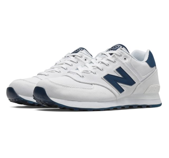 new balance men's ml574 pique polo