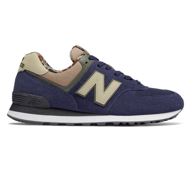 New Balance Mens 574 Featured Shoes