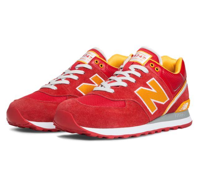 Where to Buy New Balance 574 Stadium Jacket ML574 Mens Red