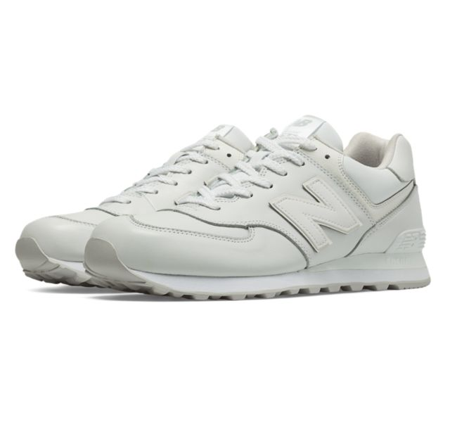 new balance ml574 white