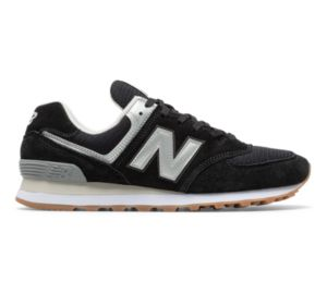 Coupon Code Leather New Balance White Gum Nb574 Shoes Men