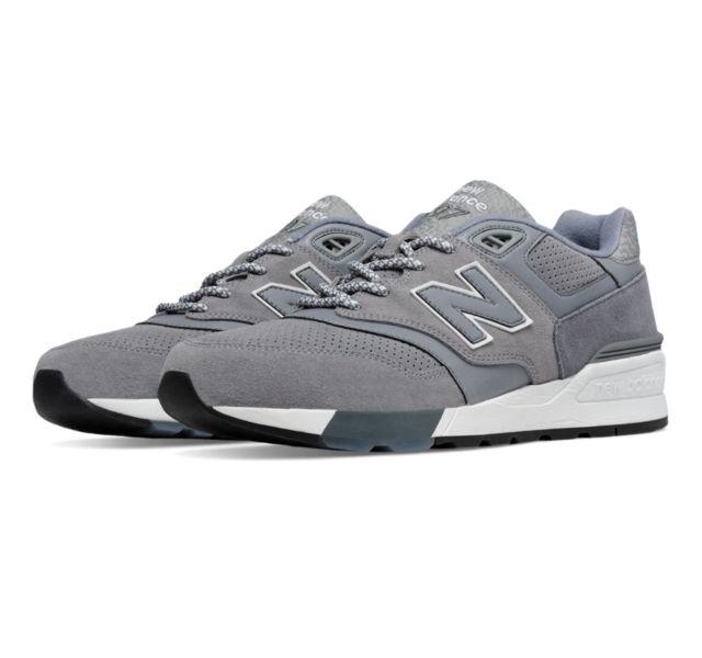 new balance suede 597 noir