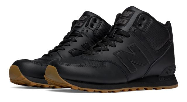 574 Mid-Cut Leather