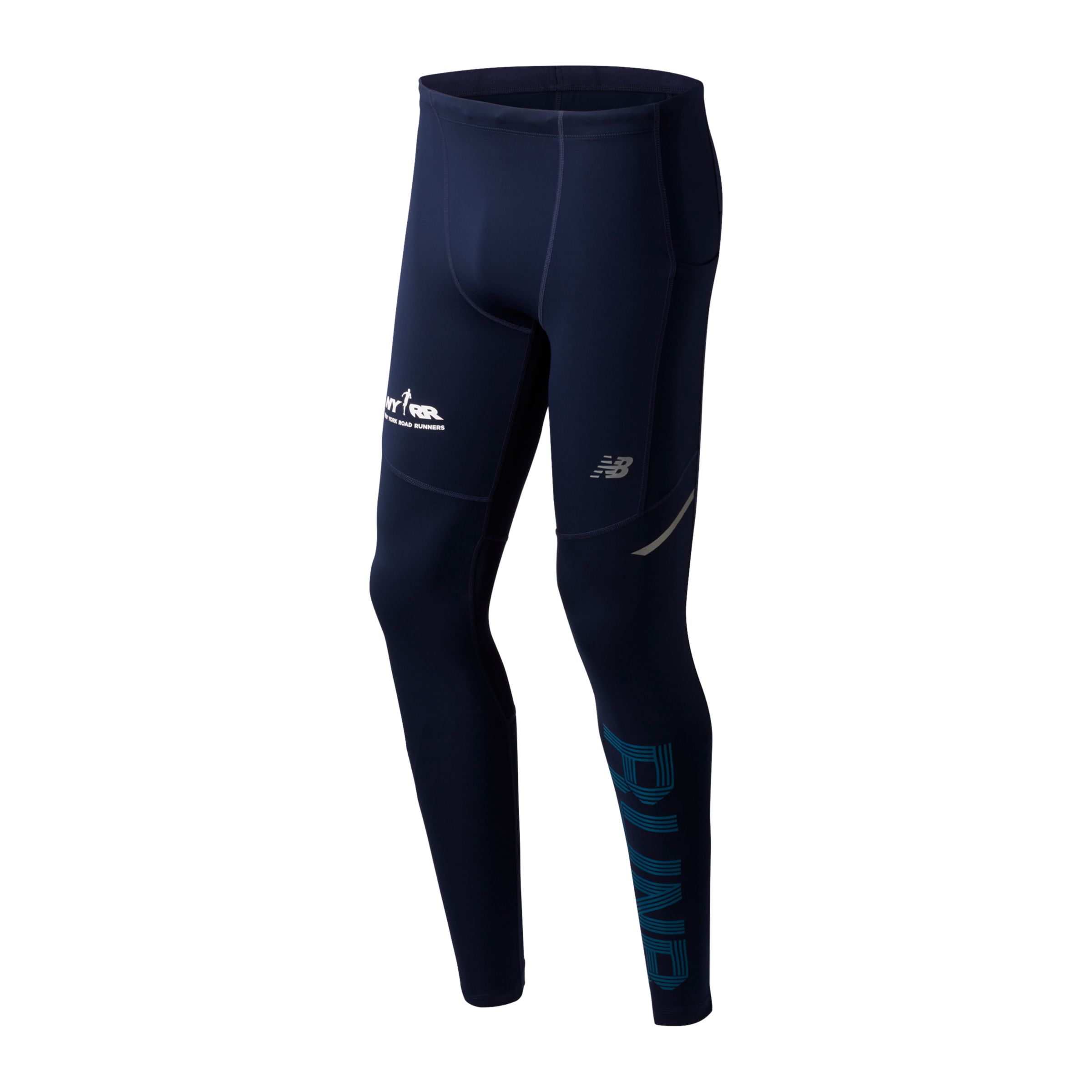Men's Run 4 Life Print Impact Tight