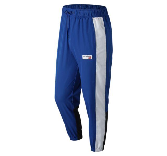New Balance Men/'s NB Athletics Windbreaker Pant Blue
