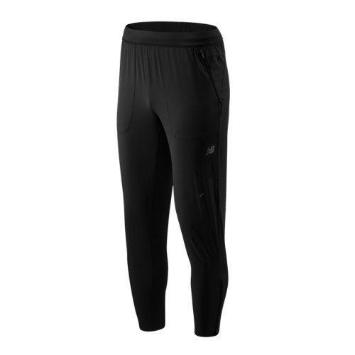 New Balance 93258 Men's Q Speed Crew Track Pant - Black (MP93258BK)