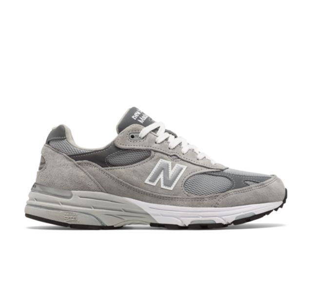 Men's New Balance 574 Made In USA Dark Grey Shoes