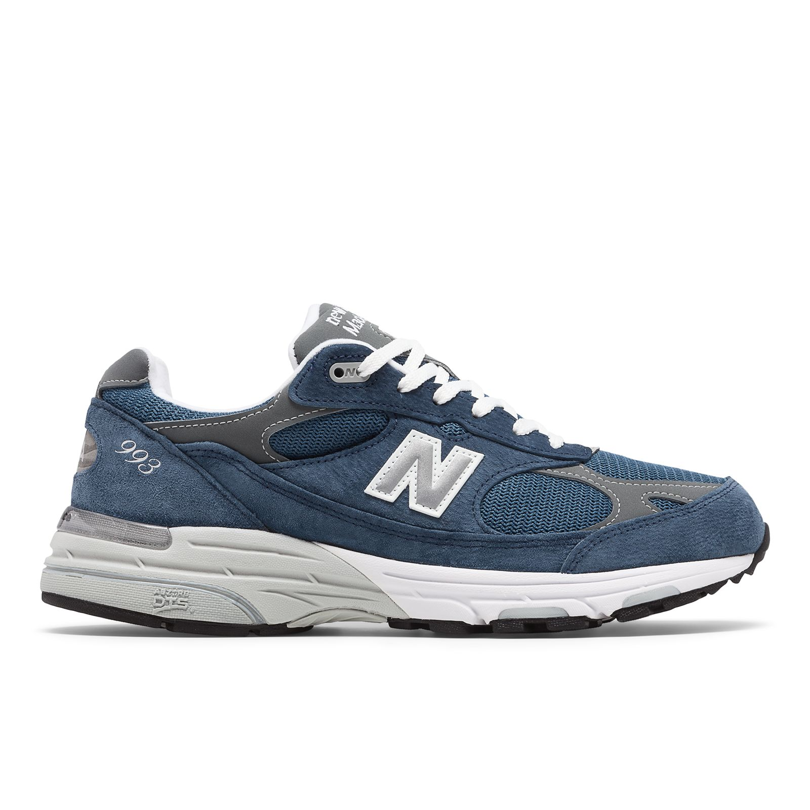 nouveau style b2f51 55bad Details about New Balance Men's Classic 993 Running Shoes Blue