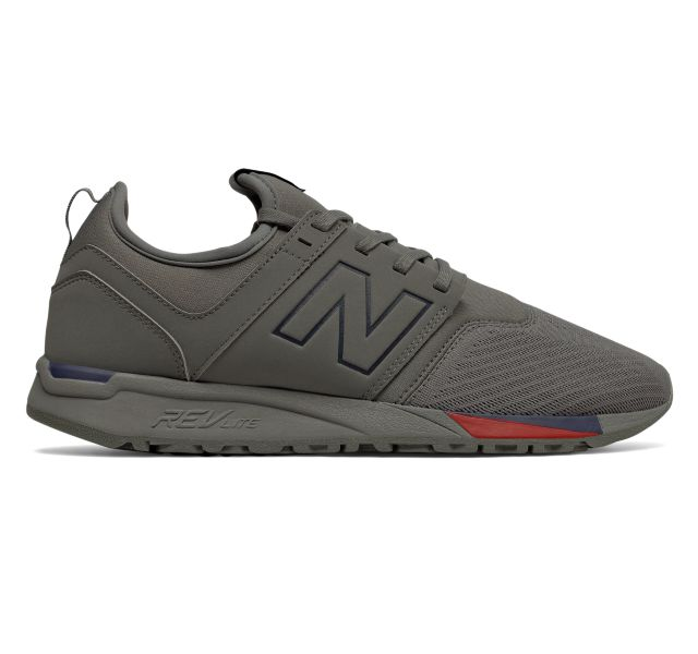 new balance men's 247 grey