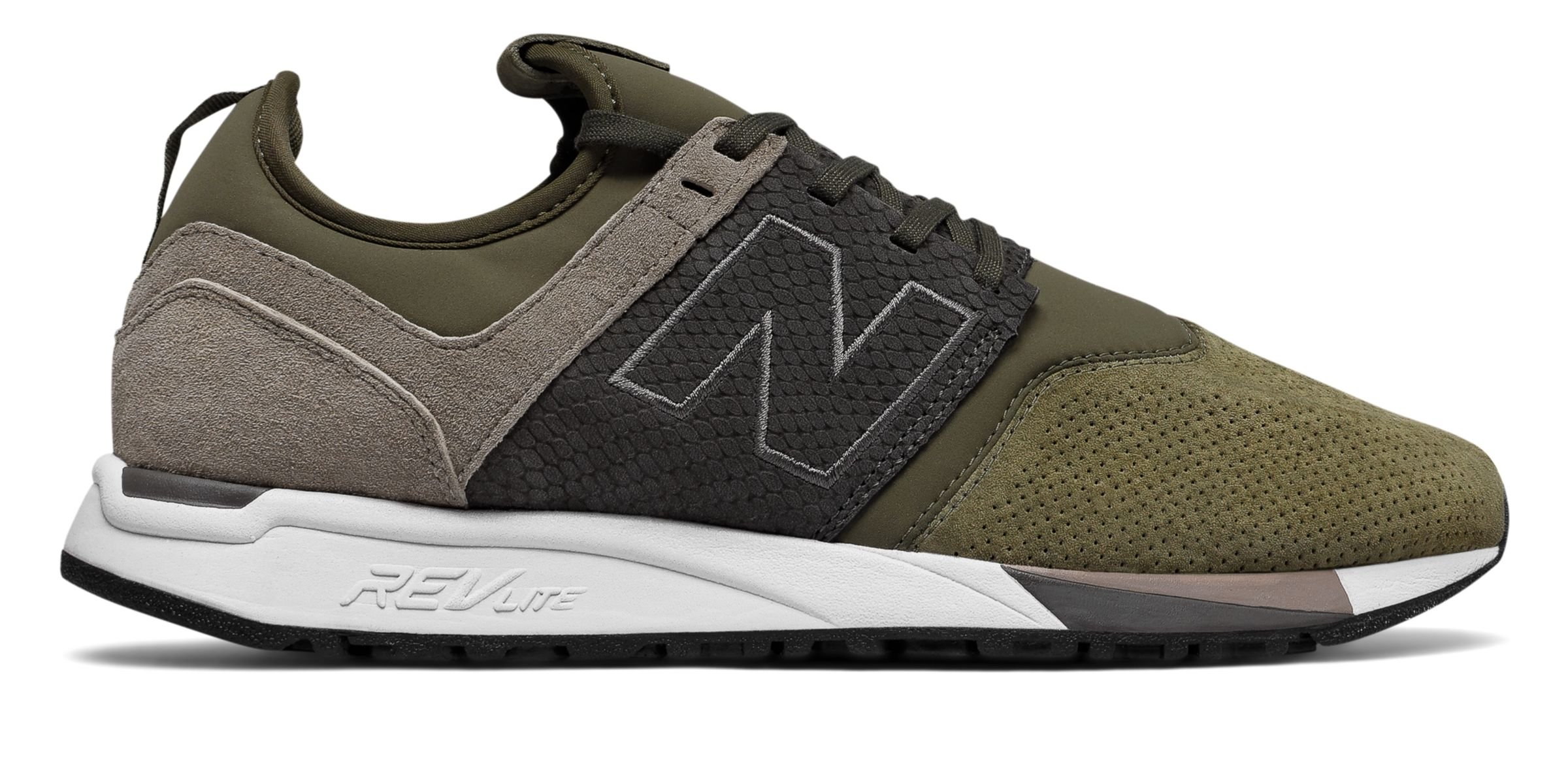 new balance 247 luxe marrones