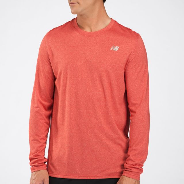 Mens Heathered Long Sleeve