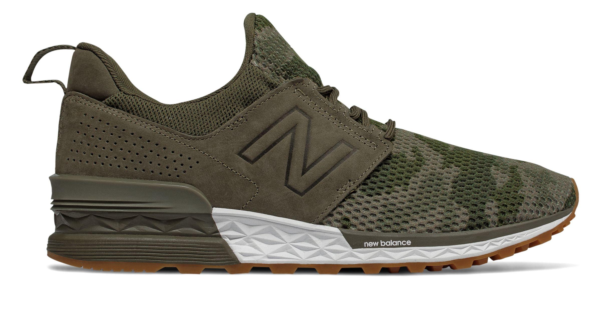 new balance 247 sport pack verde