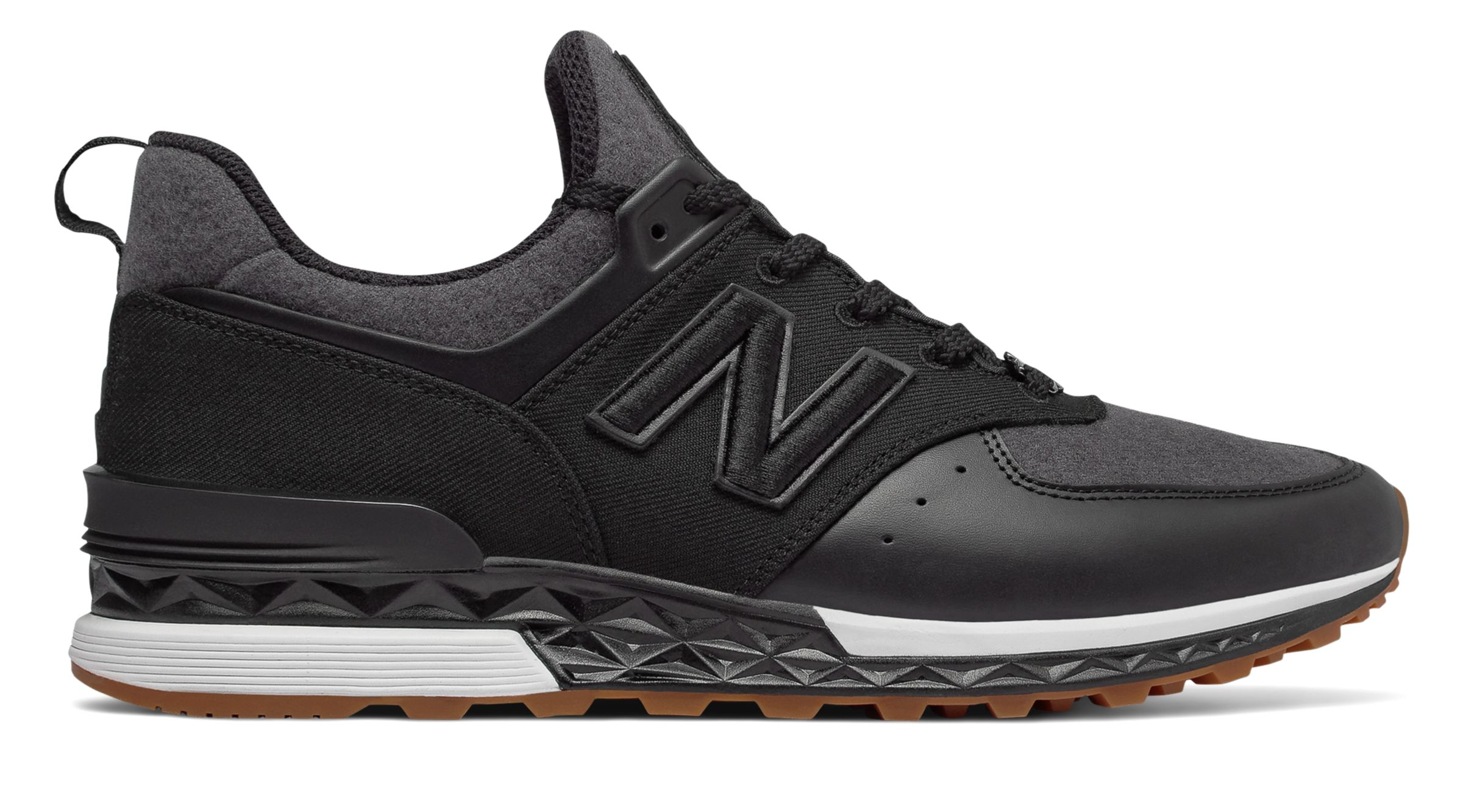 ff2992558d9f9 New Balance Men s 574 Sport NB x New Era Shoes Black