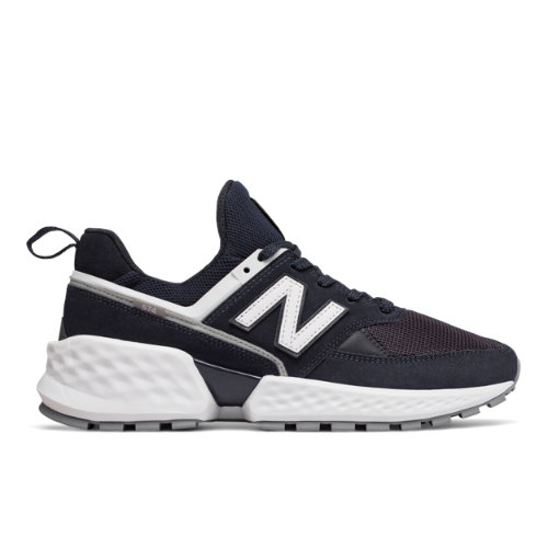 574 Sport Men's Sport Style Shoes - Black/White (MS574NSA)