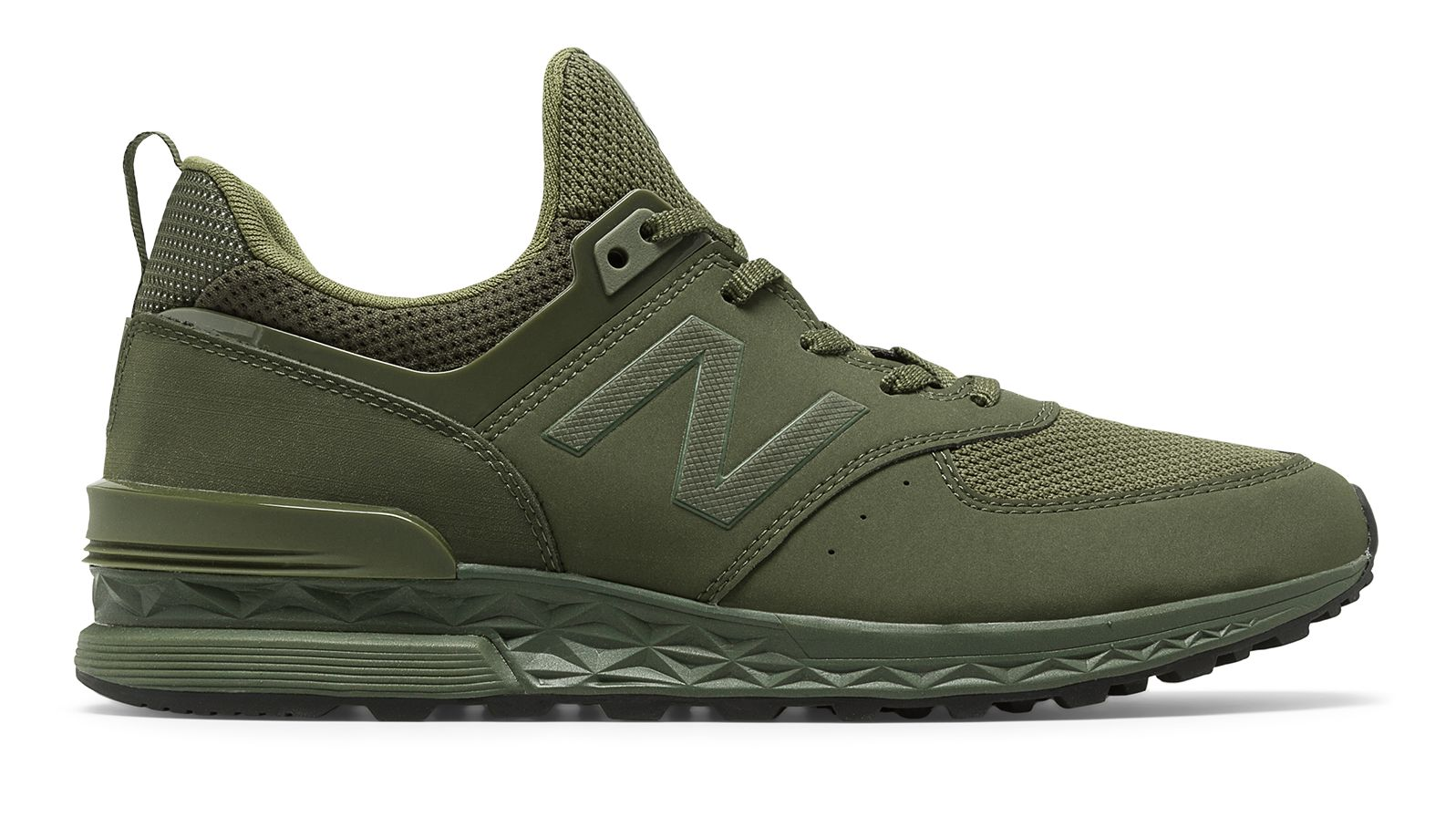 sports shoes 72fa4 82655 Details about New Balance Men's 574 Sport Shoes Green