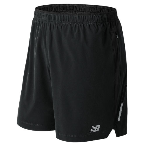 New Balance 81265 Men's Impact 7 Inch Short - Black (MS81265BK)