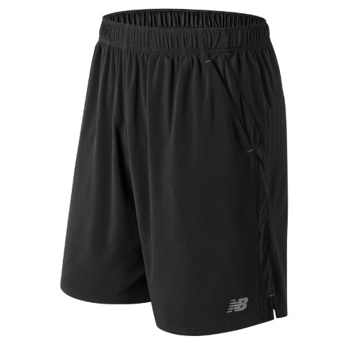 New Balance 81412 Men's 9 Inch Rally Short - Black (MS81412BK)