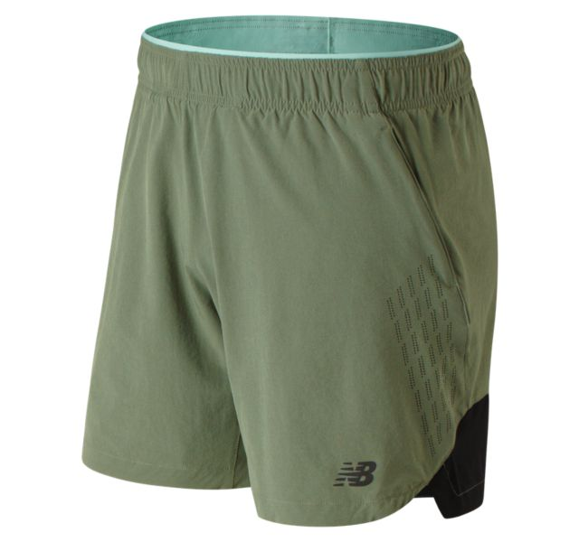 Men's 7 Inch  2 In 1 Short