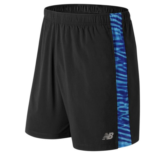 Men's Printed Accelerate 7 Inch Short